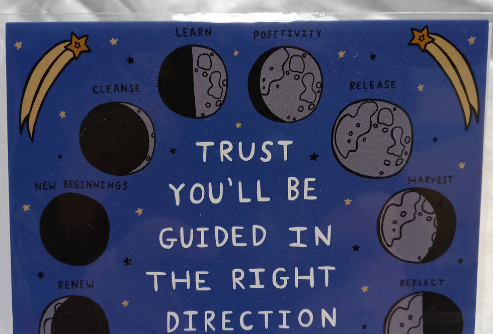 Trust You'll Be Guided Card