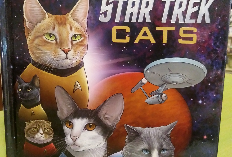 Star Trek Cats book