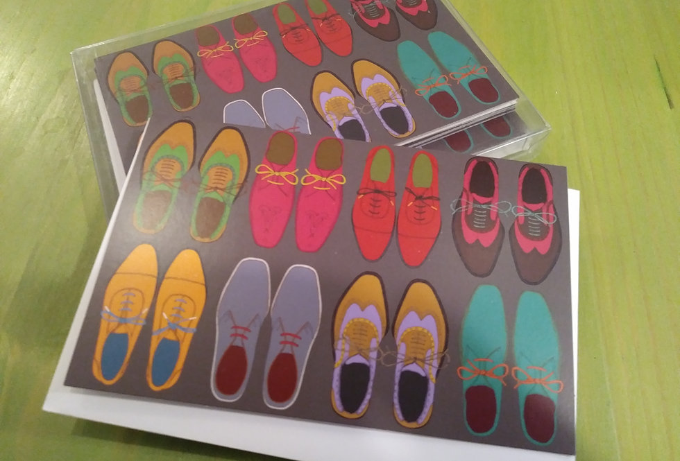Shoes Notecards