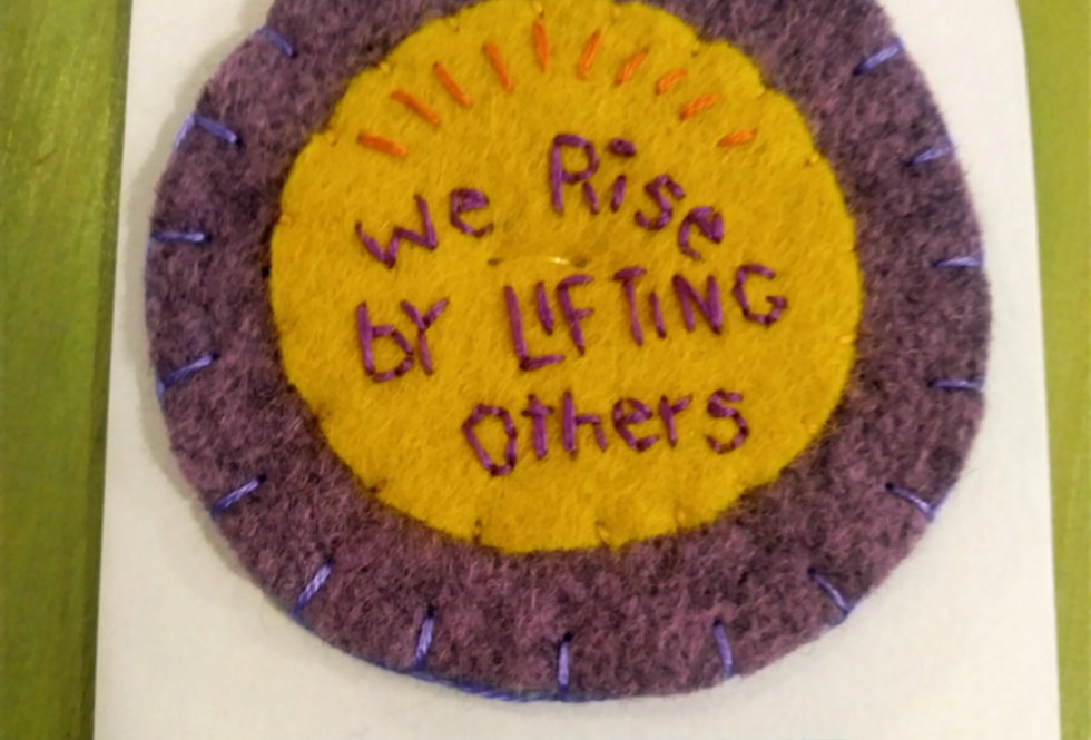 We Rise Patch