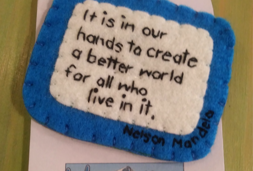 In Our Hands Patch