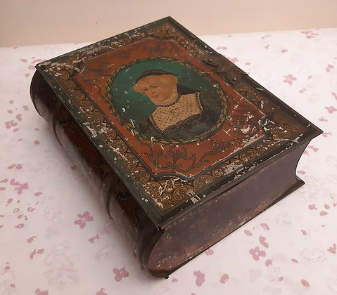 Antique Peek Frean & Co Biscuit Tin Book 1920s
