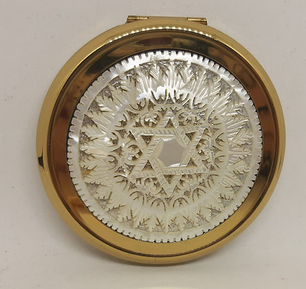 Stratton Convertible Carved MOP Star of David Complete