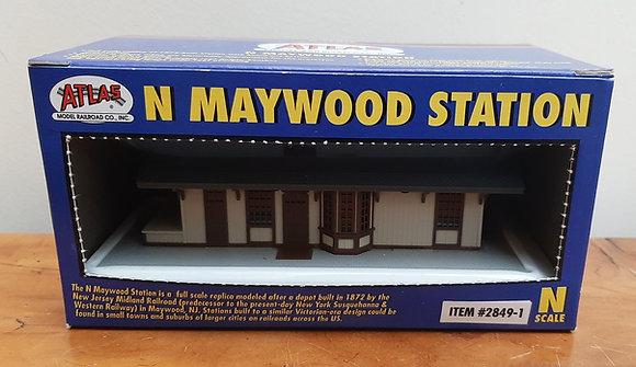 Atlas N Scale Maywood Station 2849-1 Built