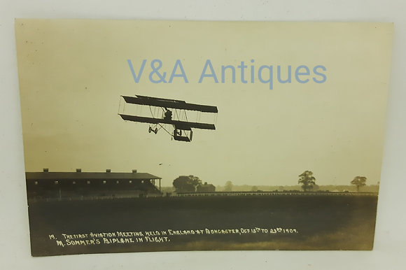 Doncaster Aviation Meeting 1909 M.Sommer's RP