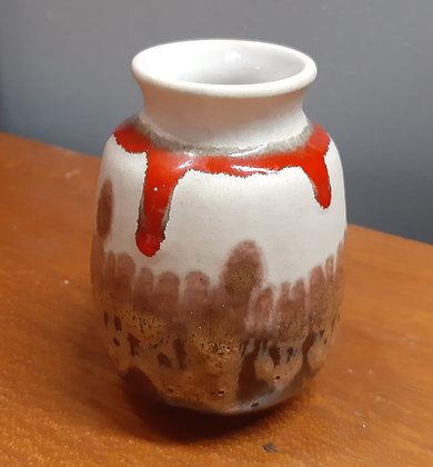 1960s BAY Keramik Mini Lava Vase 70-12