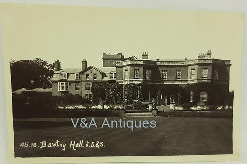 Bawtry Hall Doncaster JS&S RP Postcard