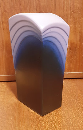 "Gebruder SPANG ""Deco"" Vase 215-22 Mauve/Navy"