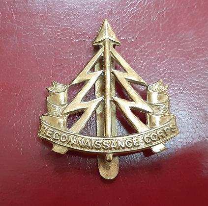 British Army Reconnaissance Corps Cap Badge