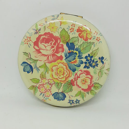 1950s American Lin Bren Vintage Floral Vinyl