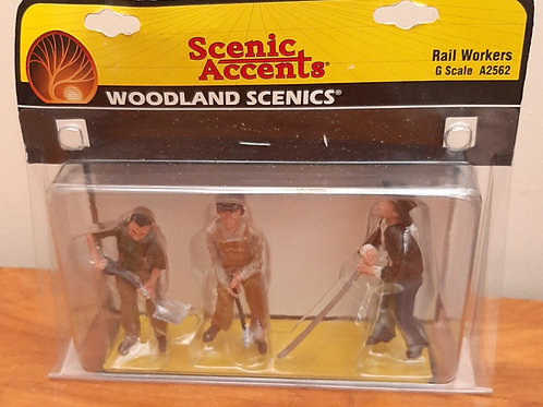 Woodland Scenic G Scale A2562 Rail Workers G Scale