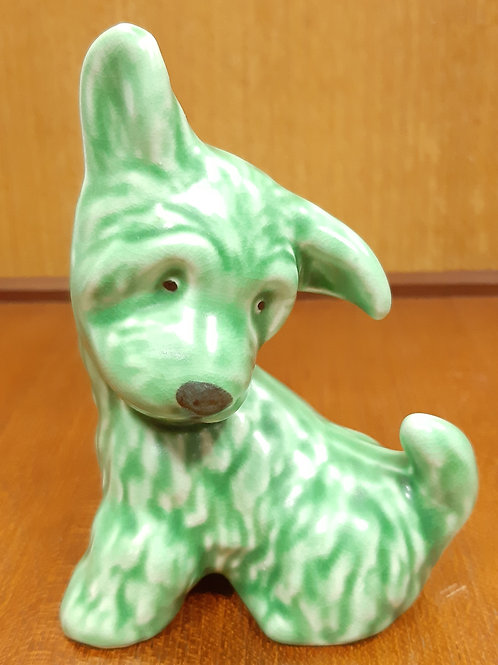Small SylvaC Sitting Terrier 73 Green