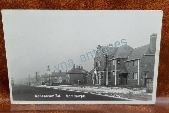 RP Postcard Armthorpe Doncaster Road