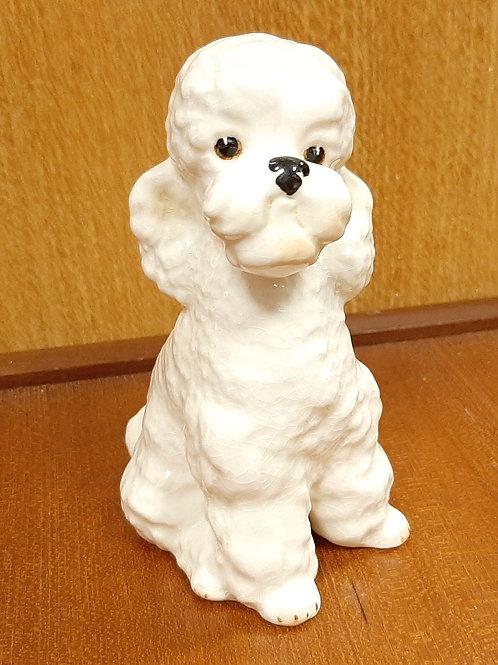 SylvaC Sitting Poodle 2962 White