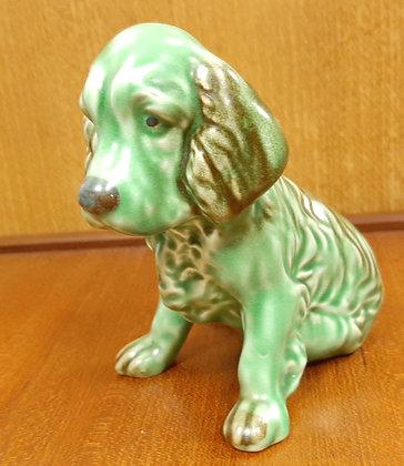 SylvaC Sitting Spaniel 18 Green & Brown