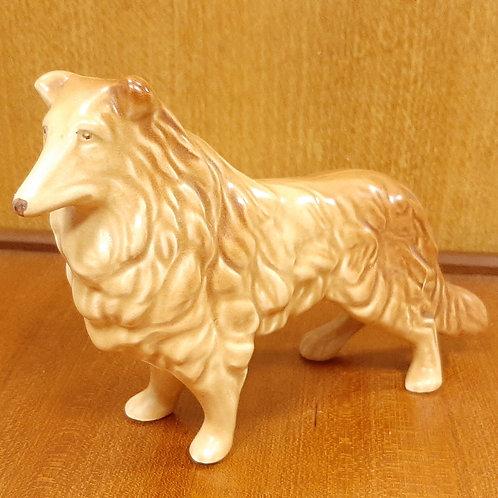 SylvaC Collie Dog Figurine 1548 Beige