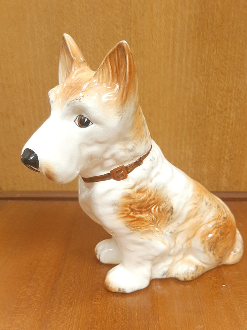 SylvaC Mac Scottie Dog 1207 White & Tan Gloss
