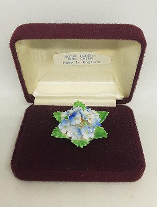 Royal Albert Bone China Floral Brooch