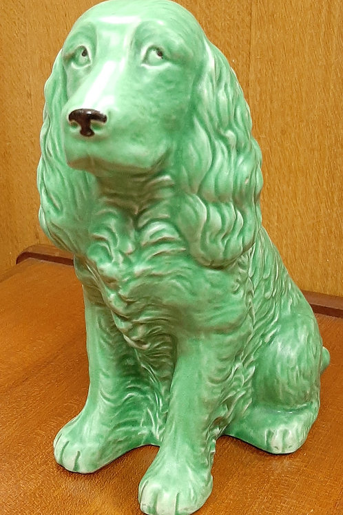 1930's SylvaC Spaniel 1382 Green