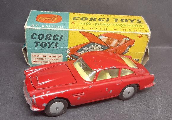 Corgi Die-Cast 218 Aston Martin D.B.4 Boxed