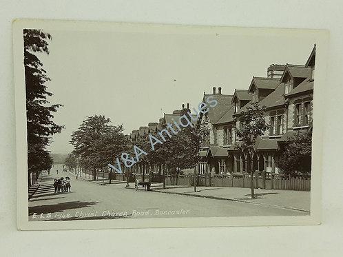 ELS RP Postcard Christ Church Road Doncaster