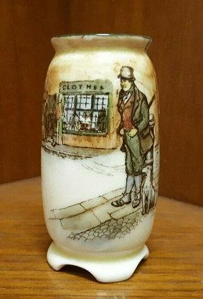 Royal Doulton Seriesware Dickens Miniature Vase