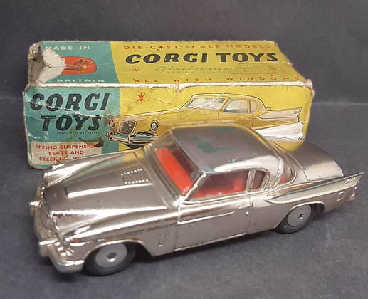 Corgi Die-Cast 211S Studebaker Golden Hawk
