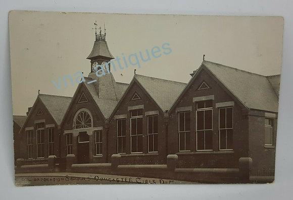 RP Postcard Corporation Schools Girls Dep Doncaster