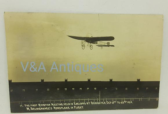 Doncaster Aviation Meeting 1909 M.Delagranges  RP