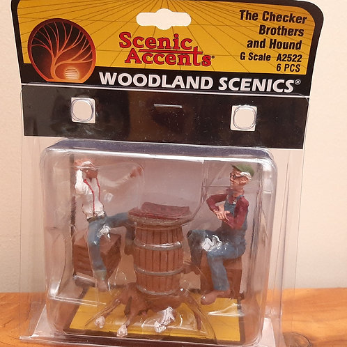 Woodland Scenic G Scale A2522 The Checker Brothers