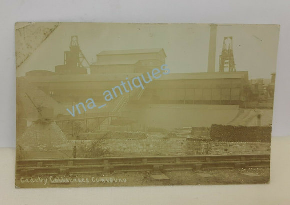 RP Cadeby Colliery Doncaster Posted 1909