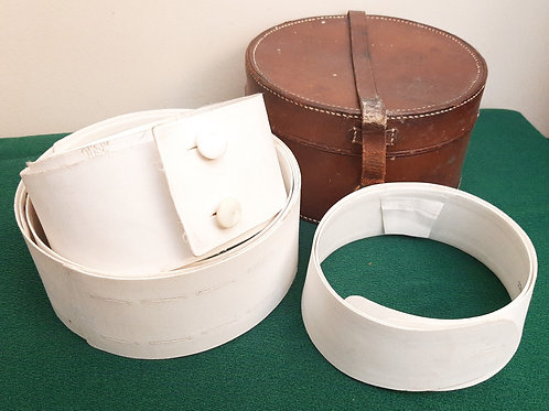 WW1 Collection Nurse Collars & Belts in Leather Box