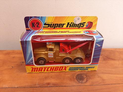 Matchbox Speed Kings K-2 Scammell Wreck Truck