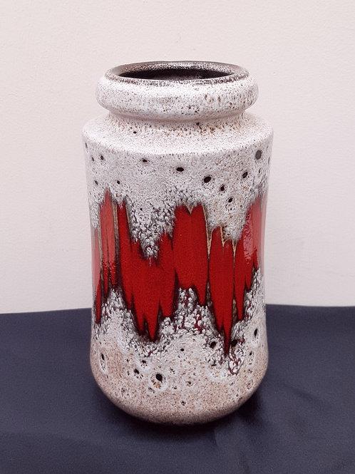 West German Scheurich Lava Vase 549-21