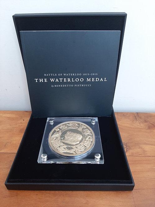 Commemorative The Waterloo Medal Benedetto Pistrucci
