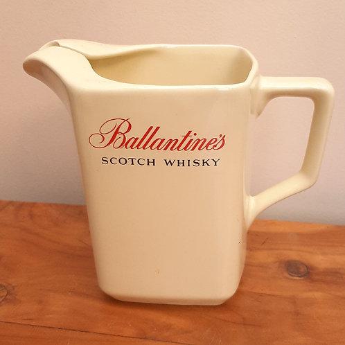 Vintage Wade Ballantines whisky Jug