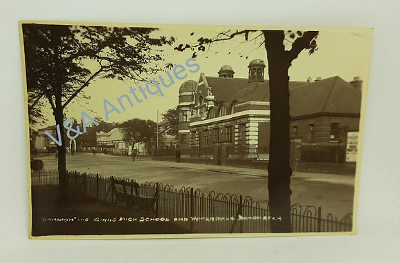 Girls High School & Waterdale Doncaster 1920s