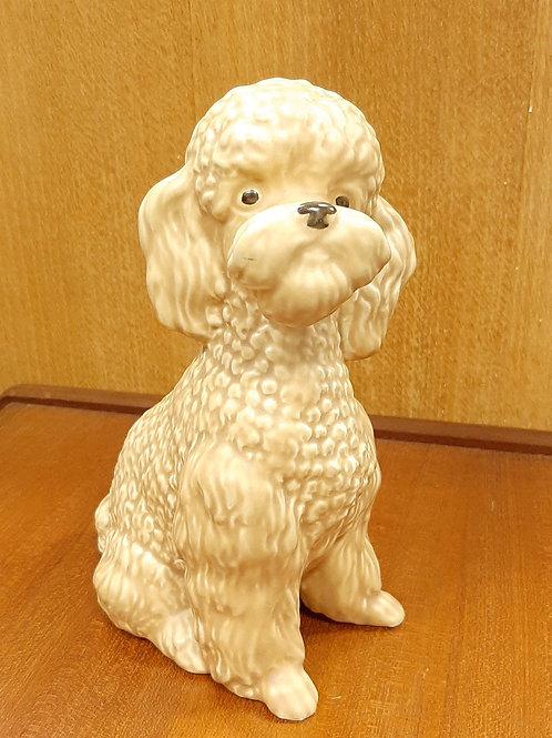 SylvaC Large Sitting Poodle 5031 Beige Matte