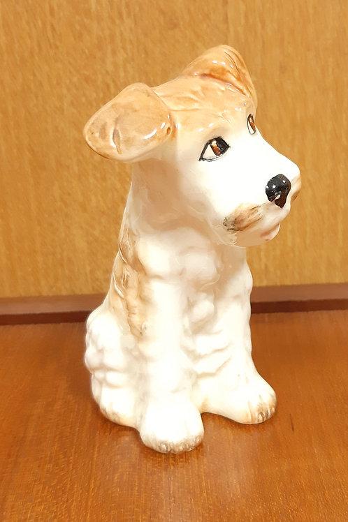 SylvaC Terrier 1378 White & Tan