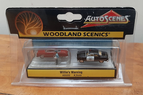 Woodland Scenic N Scale AS5333 Willie's Warning