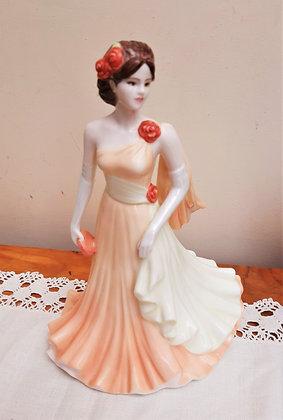 Coalport Classic Elegance Figurine Evening Romance