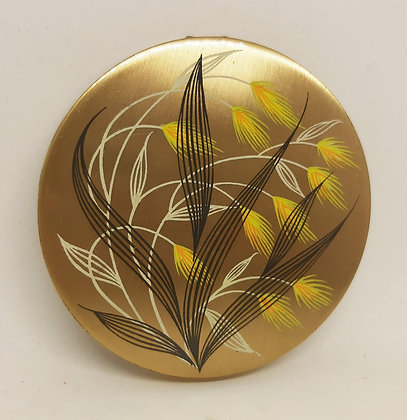 Stratton Open Hand 1950s Meadow Grasses Compact