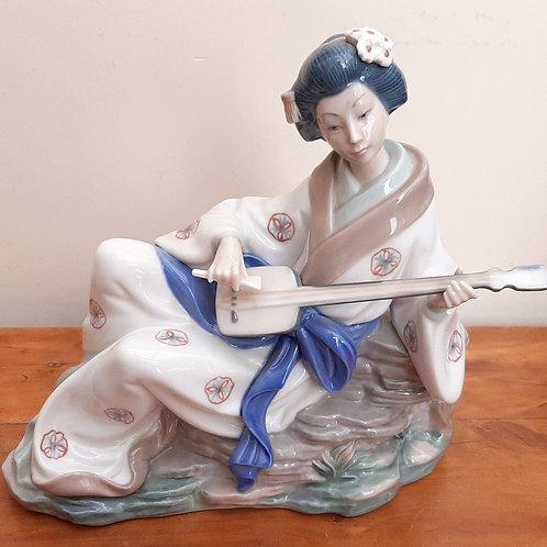 Nao Geisha Figurine Oriental Melody #227