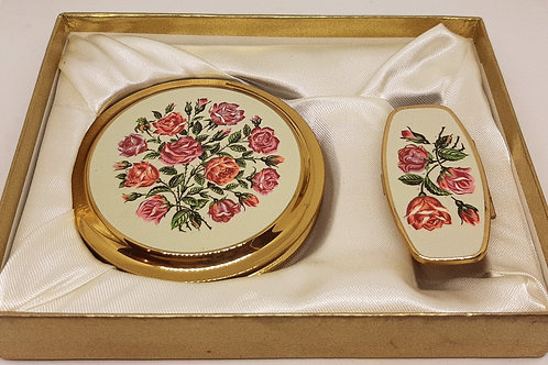 Unused & Boxed MASCOT Compact & Lipview Roses
