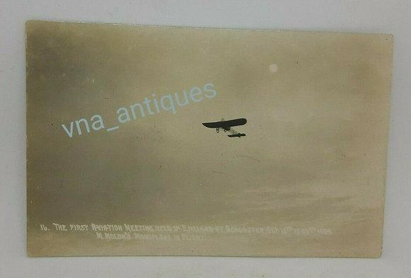 Original RP Doncaster Aviation Meeting Molon Monoplane 1909