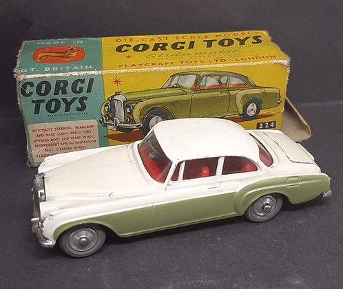 Corgi Die-Cast 224 Bentley Continental Sports Saloon