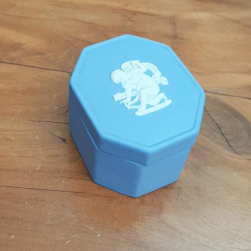 Wedgwood Jasperware Octagonal Cupid Box