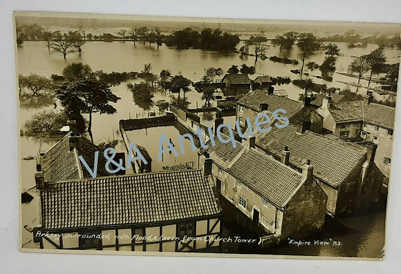Doncaster RP Arksey Surrounded view from Church 1932