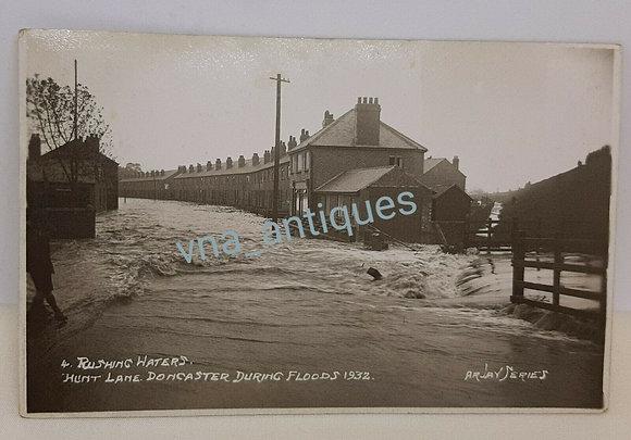 Doncaster Floods 1932 Hunt Lane Bentley Arjay