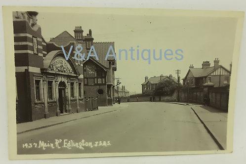 Main Rd Edlington Doncaster RP JS&S
